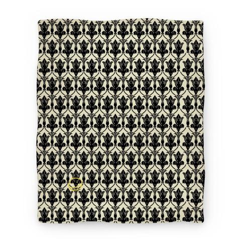 Sherlock Wallpaper Blanket Blankets