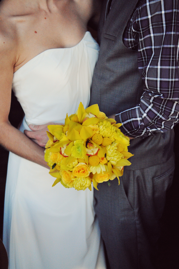 Teal And Yellow Casual Affair At The Rose Room Boise Idaho