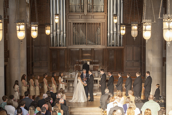 Sweet Tennessee Traditional Church Wedding