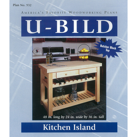 wood plans for kitchen island