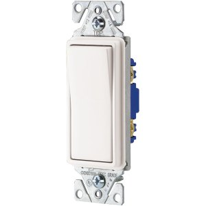 Shop Cooper Wiring Devices 15Amp White Single Pole