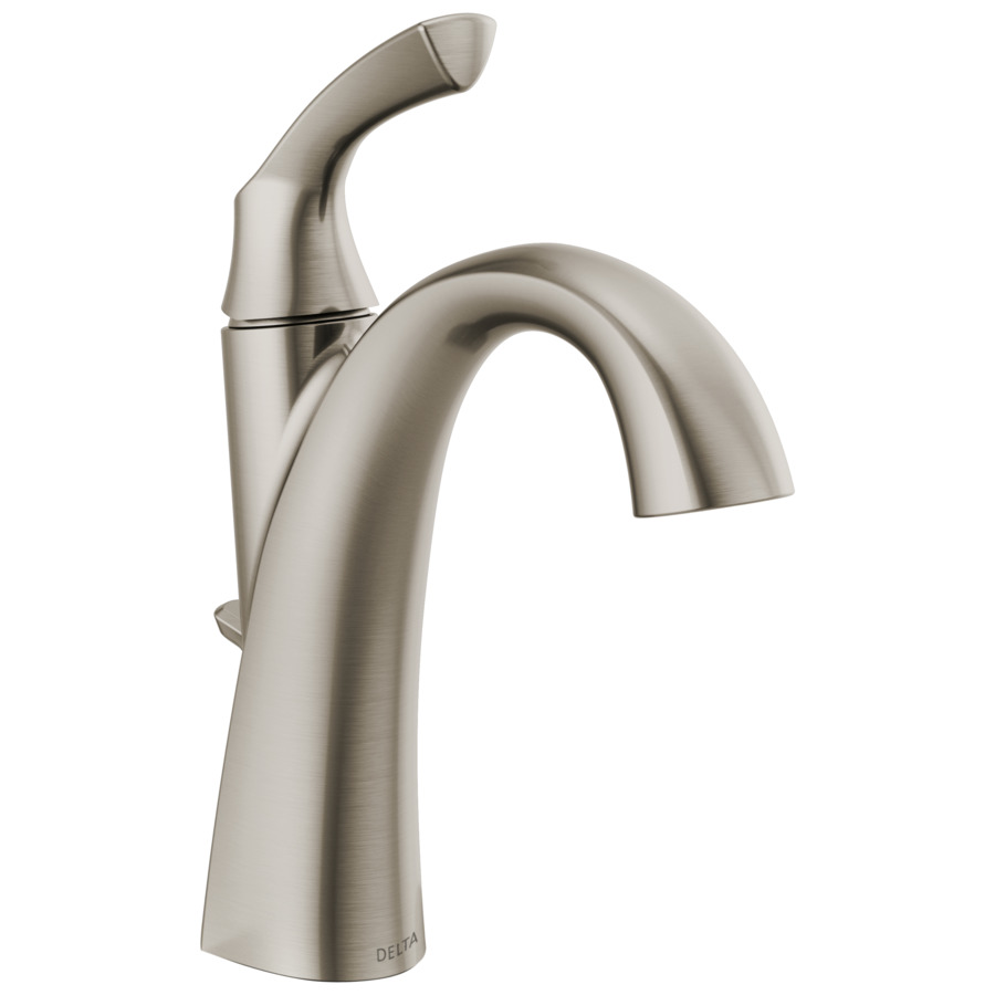 single hole bathroom sink faucets at