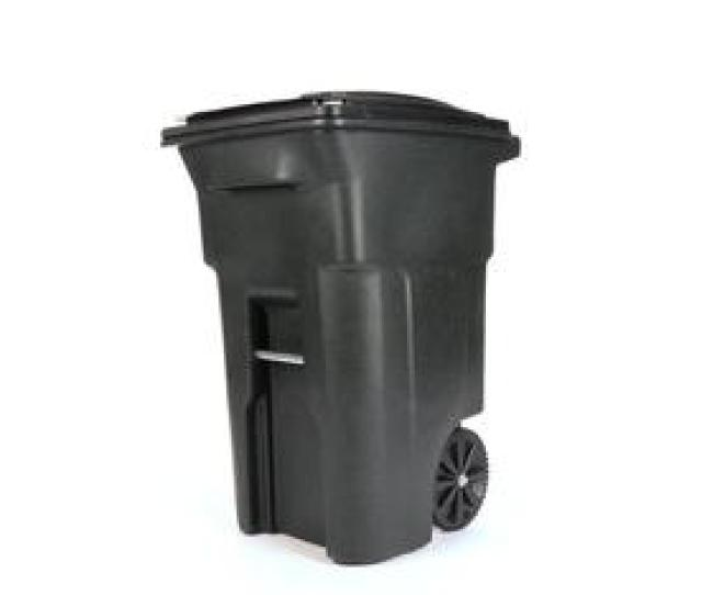 Display Product Reviews For 64 Gallon Greenstone Plastic Wheeled Trash Can With Lid