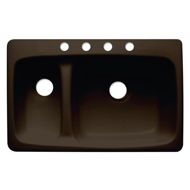 Barrington Double Basin Drop Acrylic Kitchen Sink