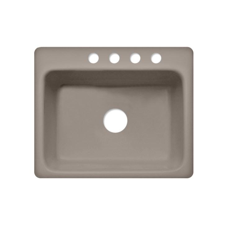 Corstone Foster Single Basin Drop Acrylic Kitchen Sink
