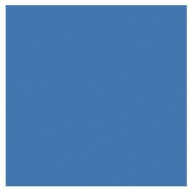 Interceramic 80 Pack 4 In X 4 In Colonial Blue Ceramic