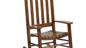 Shop Garden Treasures One Porch Brown Wood Slat Seat