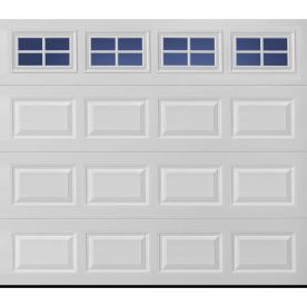 ReliaBilt 8' x 7' Insulated Garage Door with Stockton Windows