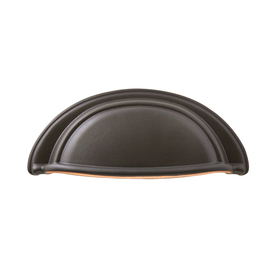 Sumner Street 3-in Center-to-Center Oil-Rubbed Bronze Symmetry Cup Cabinet Pull