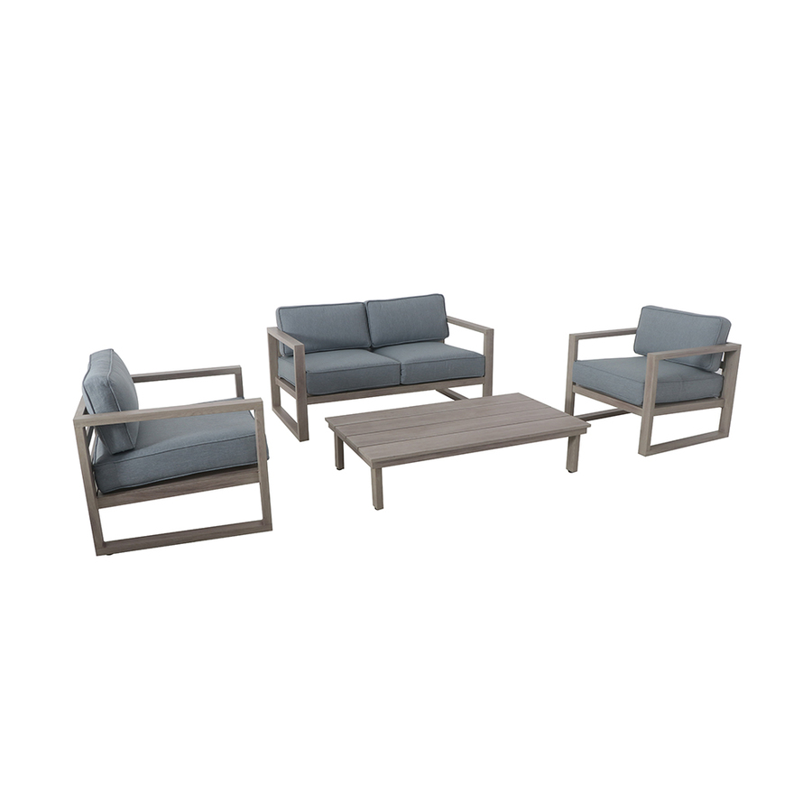 allen roth allen roth sheldon 4 piece metal frame patio conversation set with cushions fsa60645st from lowe s international business times