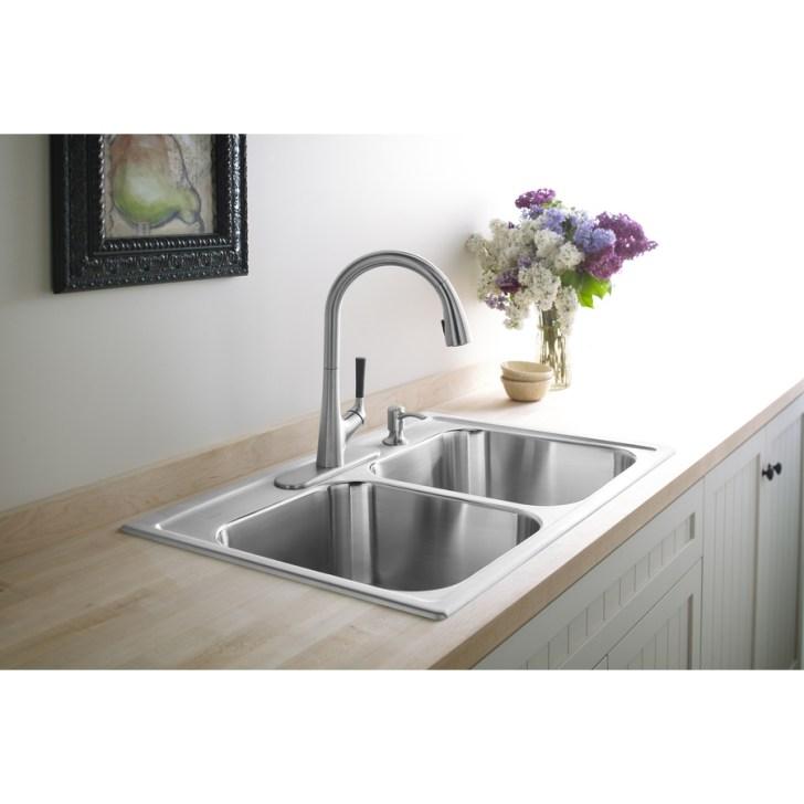 Stainless Steel Double Basin Drop Kitchen Sink