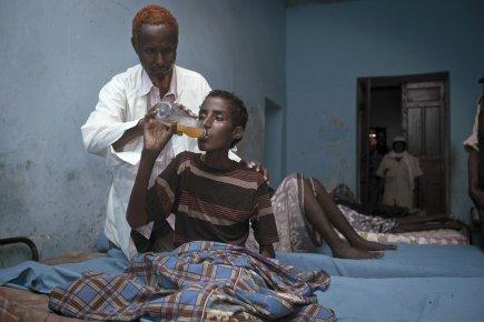 Le directeur de l'hôpital Habeb, Abdirahman Ali Awale,... (Photo George Philipas, collaboration spéciale)