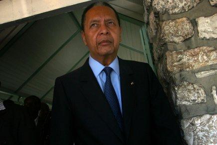 Après 25 années d'exil en France, Jean-Claude Duvalier... (Photo: Hector Retamal, AFP)
