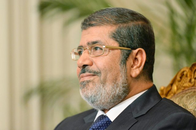 Le président égyptien Mohamed Morsi.... (PHOTO KHALED DESOUKI, AFP)