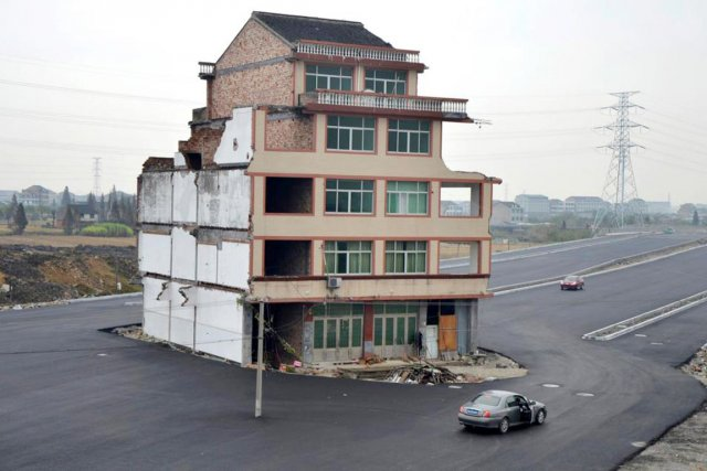 Dans la province de Zhejiang, située dans l'est... (PHOTO TIRÉE DE FACEBOOK)
