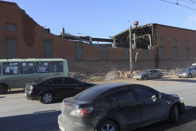 Les dégâts ont été évalués samedi à quelque... (Photo : Boris Kaulin, AP)