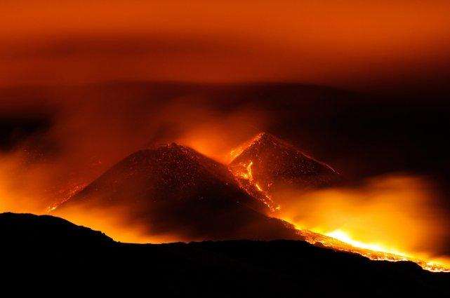 À l'époque où ces énormes éruptions se sont... (Photo AP)