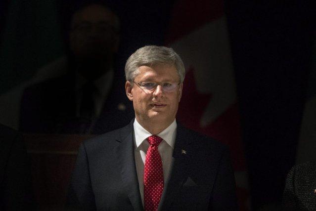 Le premier ministre conservateur Stephen Harper.... (PHOTO Chris Young, LA PRESSE CANADIENNE)
