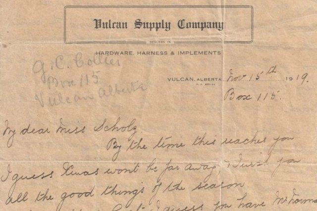 Victoria Collier a écrit cette lettre le 15... (PHOTO LA PRESSE CANADIENNE)
