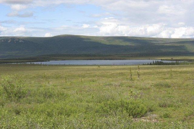 Le pont de terre qui se trouvait alors... (Photo Nancy Bigelow/University of Alaska, REUTERS)