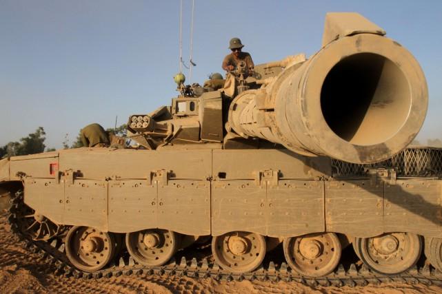 L'armée israélienne avait demandé un réapprovisionnement le 20... (Photo AFP)