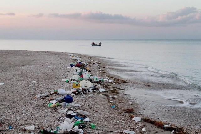 Le Canada a un taux de plastique mal... (PHOTO ARCHIVES LA PRESSE CANADIENNE)