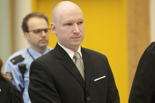 Anders Behring Breivik... (PHOTO LISE ASERUD, AGENCE FRANCE-PRESSE)