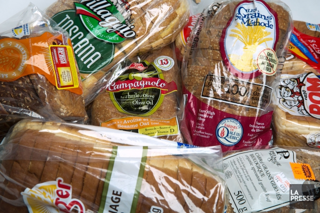 En janvier,La Pressea acheté huit pains qui ont,... (PHOTO FRANÇOIS ROY, LA PRESSE)