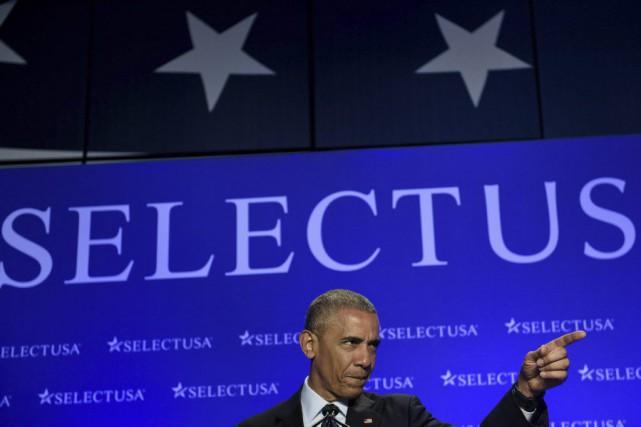 Barack Obama... (Photo Brendan Smialowski, Agence France-Presse)