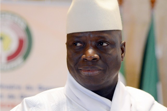 Yahya Jammeh.... (photo ISSOUF SANOGO, archives Agence France-Presse)