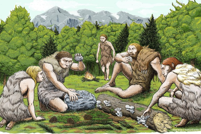 Les Néandertaliens sont apparus en Eurasie il y... (ILLUSTRATION FOURNIE PAR AP)