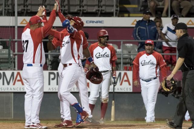 Equipo Cuba en Can-Am 2017