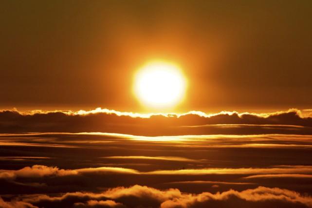 La couche d'ozone forme un bouclier gazeux, entre... (PHOTO AP)