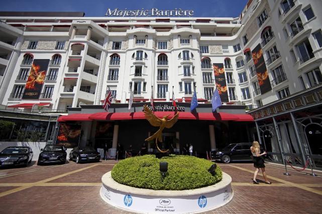 L'hôtel Le Majestic, à Cannes.... (ARCHIVES REUTERS)