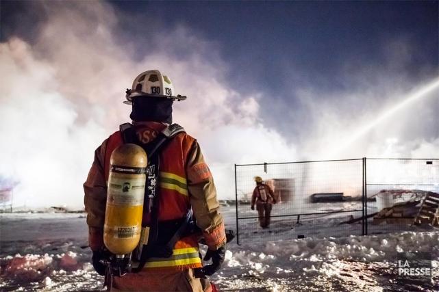 De 2002 à 2018, 109pompiers montréalais ont présenté... (Edouard Plante-Fréchette, archives La Presse)