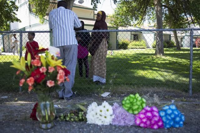 L'attaque s'est passée dans une résidence à loyers... (photo Meiying Wu, Idaho Statesman, par l'entremise de l'Associated Press)