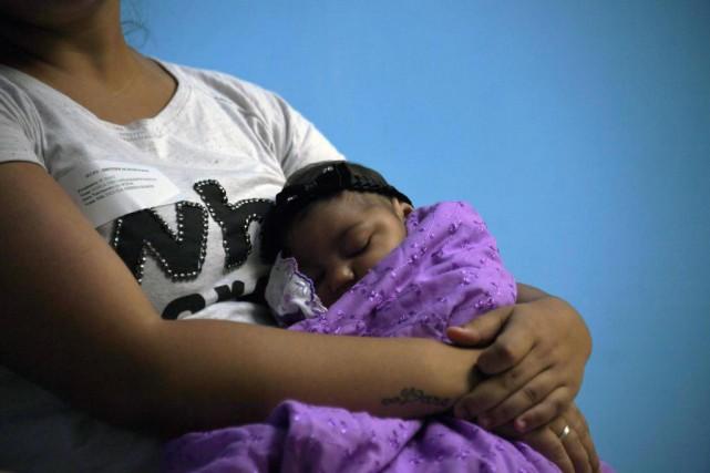 À 1 an, 8,5% des bébés en apparence... (Photo VANDERLEI ALMEIDA, archives Agence France-Presse)