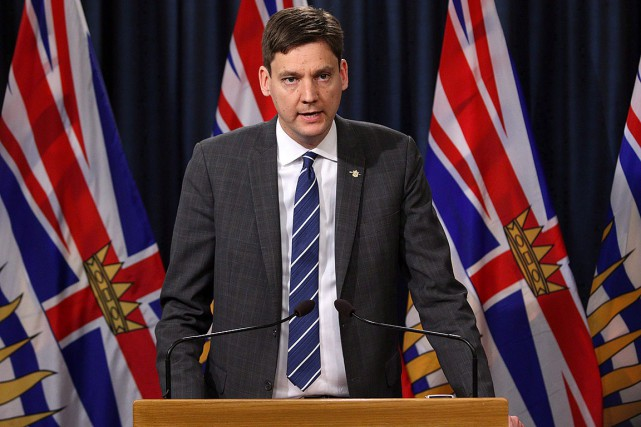 David Eby... (Photo CHAD HIPOLITO, THE CANADIAN PRESS)