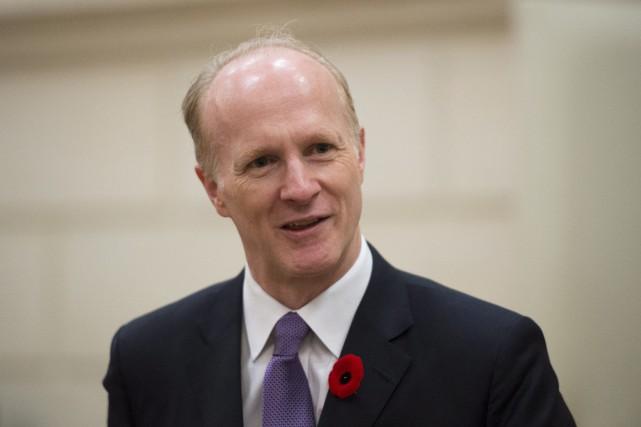 Mark Machin, PDG de l'Office d'investissement du Régime... (PHOTO ADRIAN WYLD, LA PRESSE CANADIENNE)