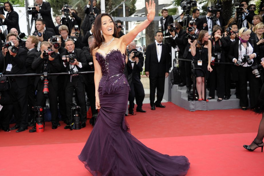 cannes tapis rouge et robes glamour