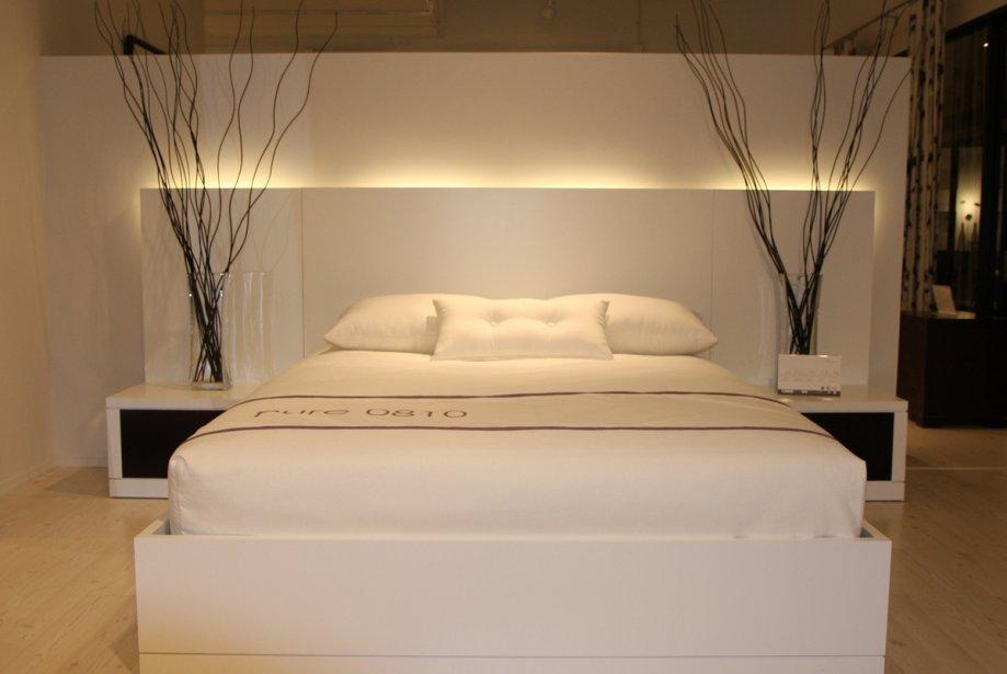la chambre a coucher se pare de blanc