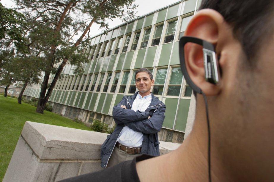 Marcher avec des écouteurs