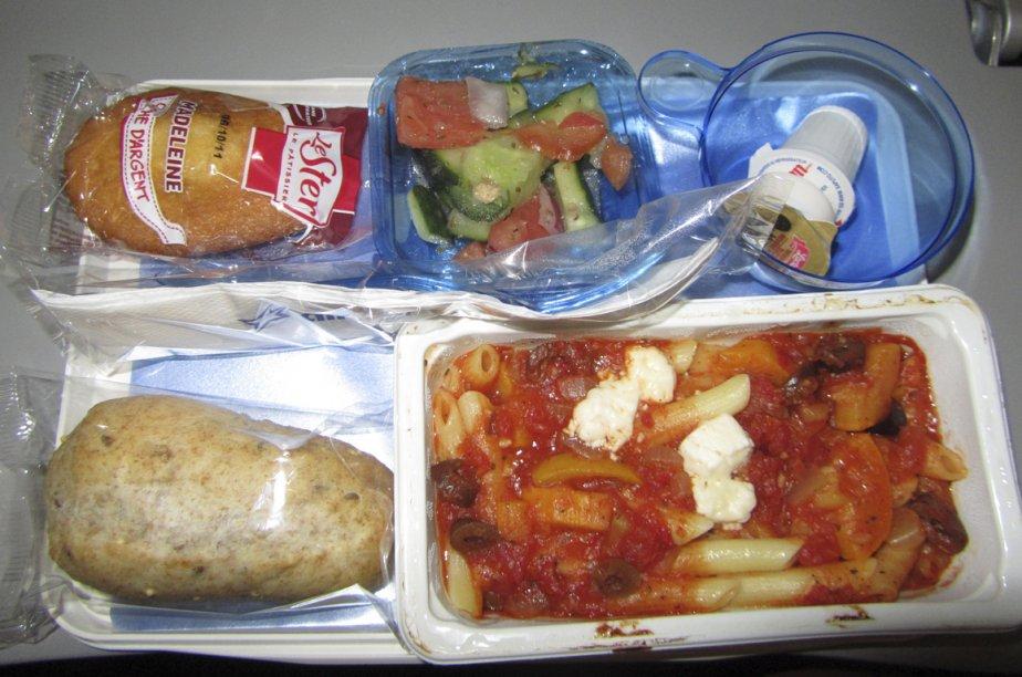 repas d avion une affaire de classes