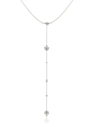 Perlota Daphne Diamond Drop Necklace