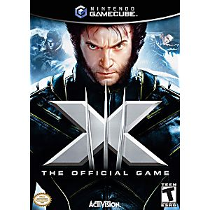 X Men The Official Game Gamecube Game