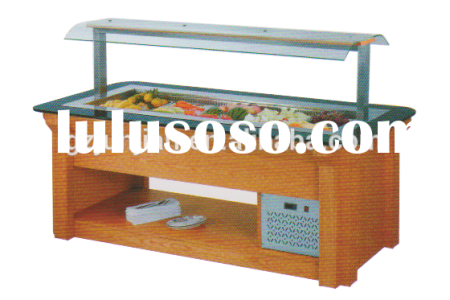 Used Salad Bar Equipment For Sale 4K Pictures