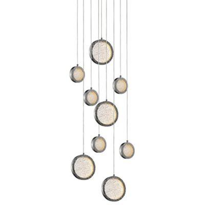 bottega multi light pendant light