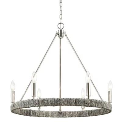 abaca chandelier