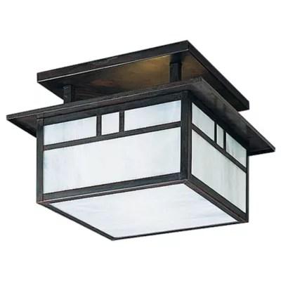 huntington 12 in semi flushmount light