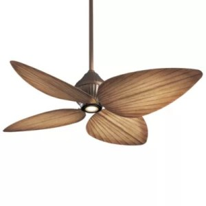 Tropical Ceiling Fans   Modern Palm Leaf Ceiling Fans at Lumens com Gauguin Indoor Outdoor Ceiling Fan with Light